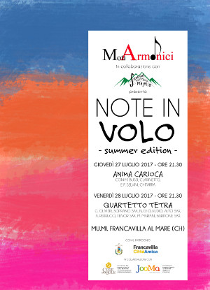 note in volo summer edition
