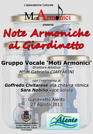 Note Armoniche A lGiardinetto